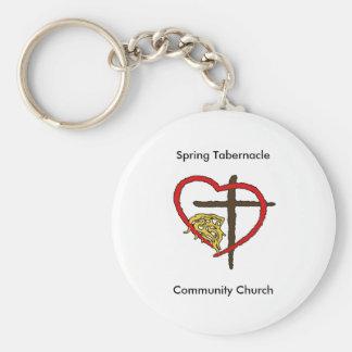 Spring Tabernacle Key Chain