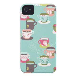 Spring Tea Garden iPhone 4 Case-Mate Case