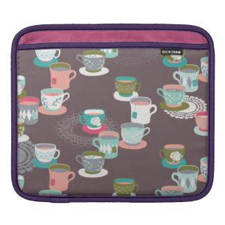 Spring Tea Garden Sleeve For iPads