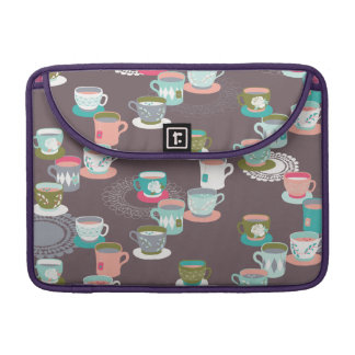 Spring Tea Garden Sleeve For MacBook Pro