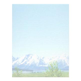 Spring Tetons letterhead
