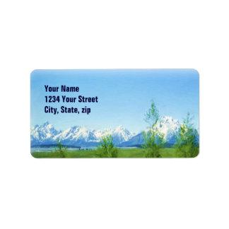 Spring Tetons VISION label