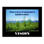 Spring Tetons VISION postcard