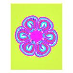 Spring Thang #5 - Monogram Customizable Letterhead Template