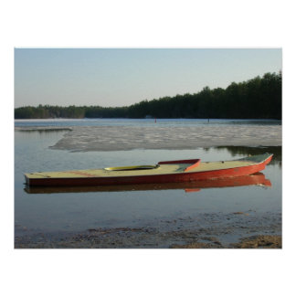 Spring Thaw on Ossipee Poster