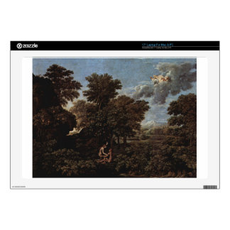 "Spring (The Earthly Paradise) by Nicolas Poussin 17"" Laptop Skin"