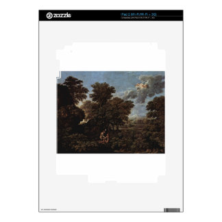 Spring (The Earthly Paradise) by Nicolas Poussin iPad 2 Decal