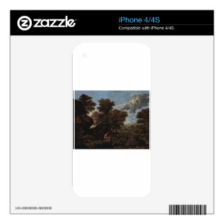 Spring (The Earthly Paradise) by Nicolas Poussin iPhone 4 Skin
