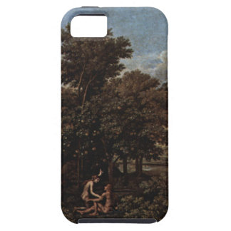 Spring (The Earthly Paradise) by Nicolas Poussin iPhone SE/5/5s Case
