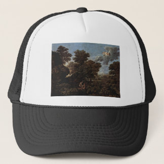Spring (The Earthly Paradise) by Nicolas Poussin Trucker Hat