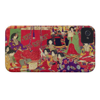 Spring the interest poetry party iPhone 4 case