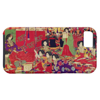 Spring the interest poetry party iPhone SE/5/5s case