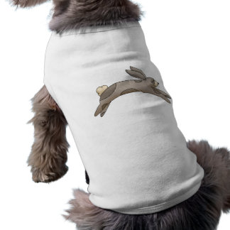 Spring Things · Grey Bunny Dog Tshirt