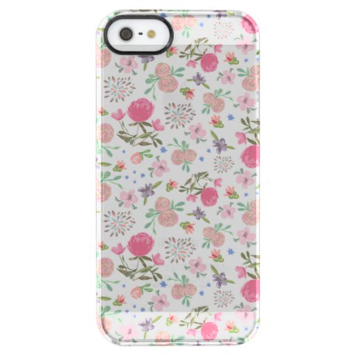 Spring Thrill Clear iPhone SE/5/5s Case