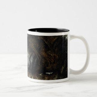 Spring Tide near Honfleur, c.1861 Two-Tone Coffee Mug