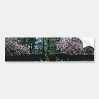 Spring time Annahill Gardens Kilmarnock Scotlan Bumper Stickers