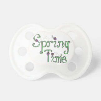 Spring Time Baby Pacifiers