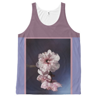 Spring Time by Bubbleblue All-Over Print Tank Top