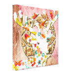 Spring Time Canvas - Designed by Gustique Stretched Canvas Print