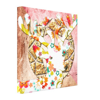 Spring Time Canvas - Designed by Gustique