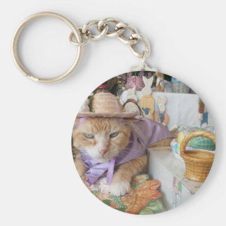 Spring Time Claude Keychain