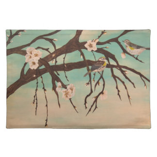 Spring time cloth placemat