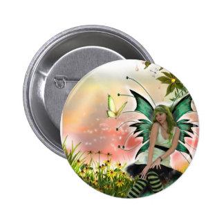 Spring Time Faery (Button)
