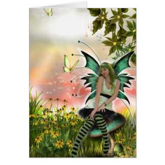 Spring Time Faery (Card)