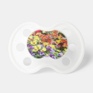 Spring Time Flowers Baby Pacifiers