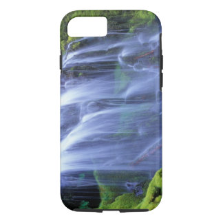 Spring-time fresh water flowing over moss iPhone 8/7 case