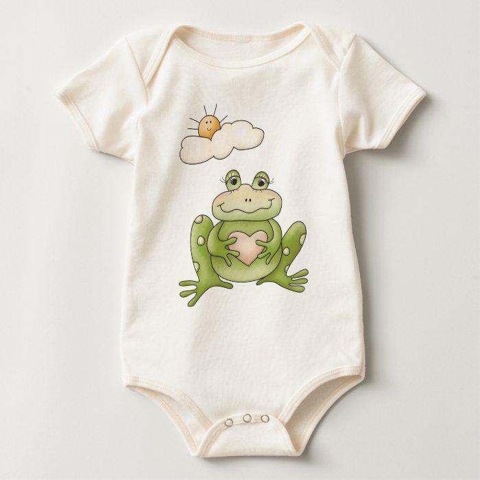 Spring Time · Frog Baby Bodysuit