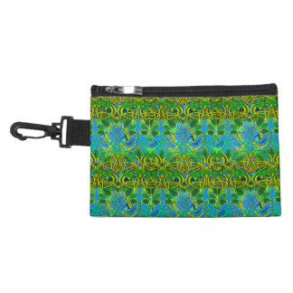 Spring time in the flower garden accessories bag