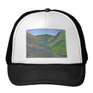 Spring time in the mountains trucker hat