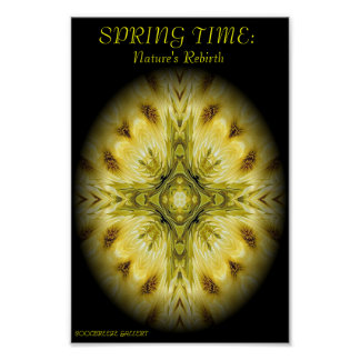 SPRING TIME:Nature's Rebirth Poster