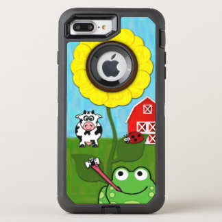 Spring Time on the Farm OtterBox Defender iPhone 7 Plus Case