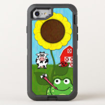 Spring Time on the Farm OtterBox Defender iPhone 8/7 Case
