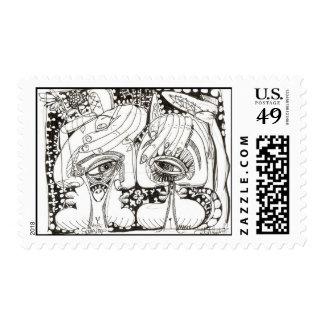 Spring Time Postage Stamp