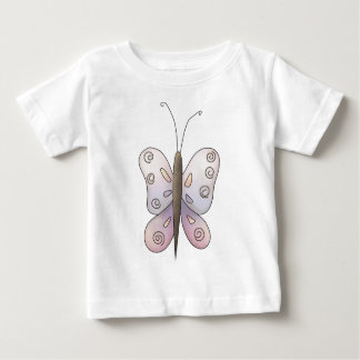Spring Time · Purple Butterfly Baby T-Shirt