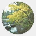 Spring Time Round Sticker
