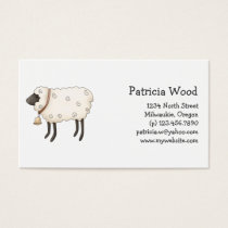 Spring Time · Sheep Business Card