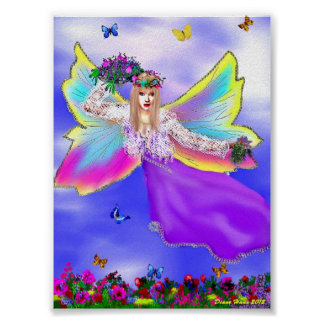 Spring Time with Mother Nature Poster