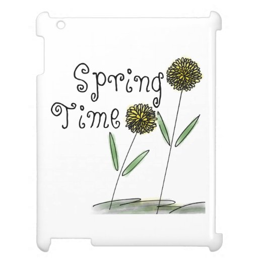 Spring Time Yellow Flowers Case for the iPad