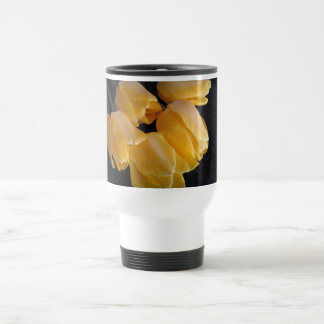 Spring Time Yellow Tulips Travel Mug
