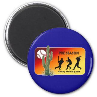 Spring Training Baseball 2014 Cactus 2 Inch Round Magnet