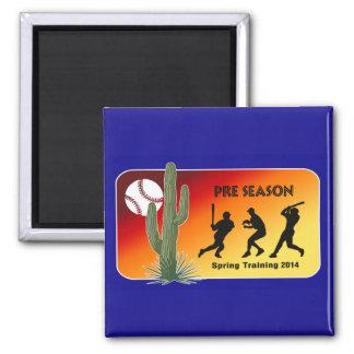 Spring Training Baseball 2014 Cactus Refrigerator Magnets