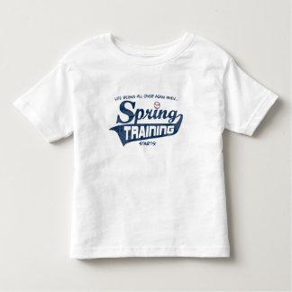 Spring Training Life Begins Again Shirt