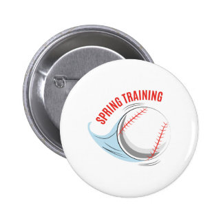 Spring Training Pinback Button