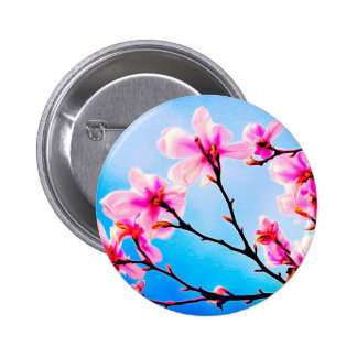 Spring Tree Art Button