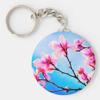 Spring Tree Art Keychain