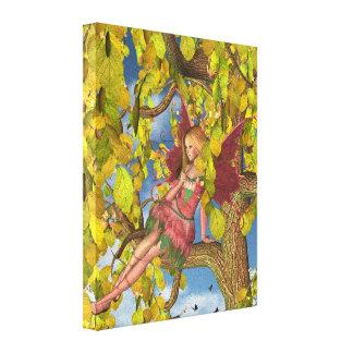 Spring Tree Blossom Fairy Canvas Print